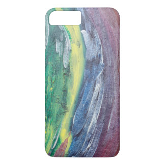 rain abstract art iPhone 7 Barely There case