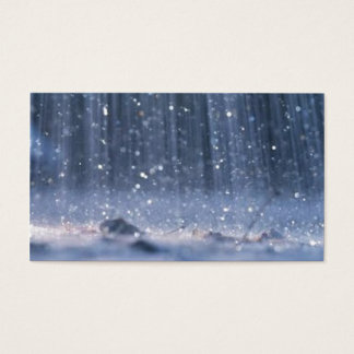 Rain Business Card