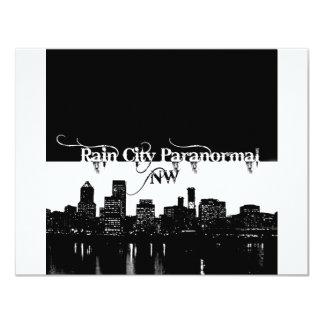 Rain City Paranormal -- Cityscape Card