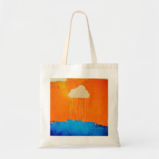 Rain Cloud Tote Bag