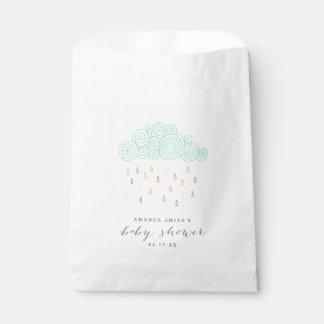 Rain Clouds Baby Shower Favour Bag