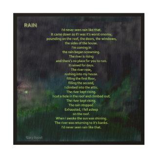 Rain, concept art by Gary Revel