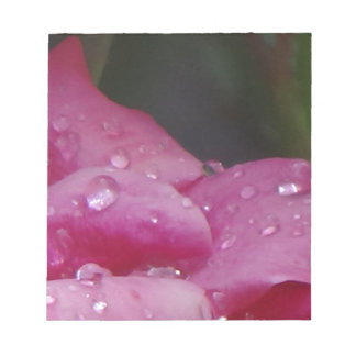 Rain Drop Flower Notepad