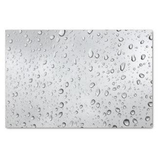 Rain Droplets Tissue Paper