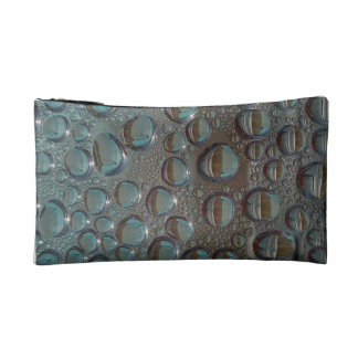 Rain Drops Cosmetic Bag