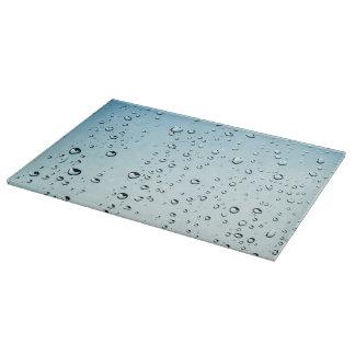 Rain drops cutting board
