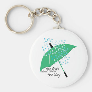 Rain Drops Dance Keychain