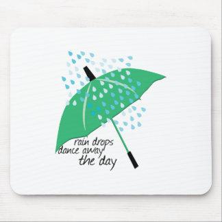 Rain Drops Dance Mouse Pads