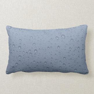 Rain drops double sided lumbar cushion