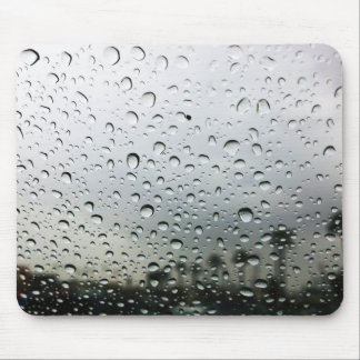 Rain Drops on the Windshield in California Mouse Pad