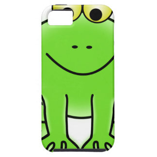 Rain forest Green Frog Case For The iPhone 5