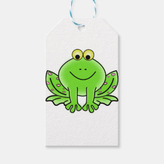 Rain forest Green Frog Gift Tags