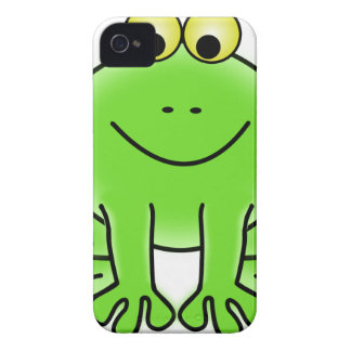 Rain forest Green Frog iPhone 4 Case-Mate Case