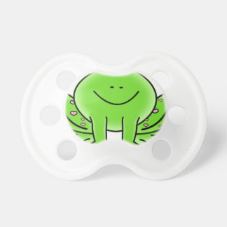 Rain forest Green Frog Pacifier