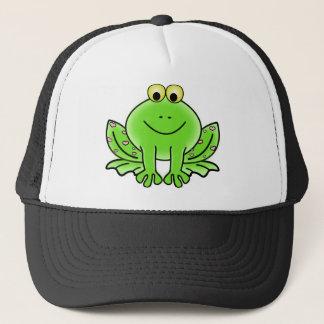 Rain forest Green Frog Trucker Hat