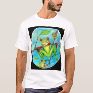 Rain Forest Green Tree Frog T-Shirt