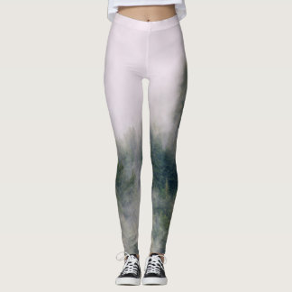 Rain Forest in the Mist Leggings