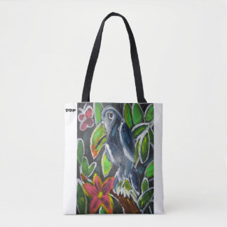 Rain Forest  Toucan art Tote Bag