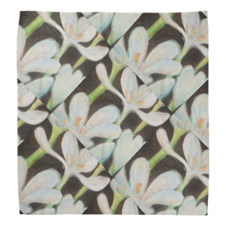 Rain Lily Patterned Kerchief