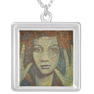 Rain Necklace (square)