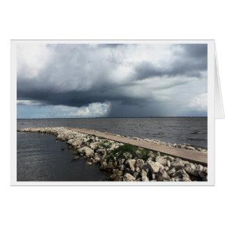Rain of Palacios Bay, Palacios, Texas Card