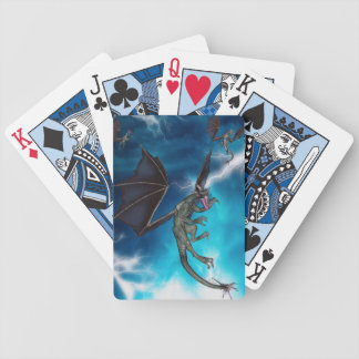Rain of the Dragons - Magic Edition Bicycle Playing Cards