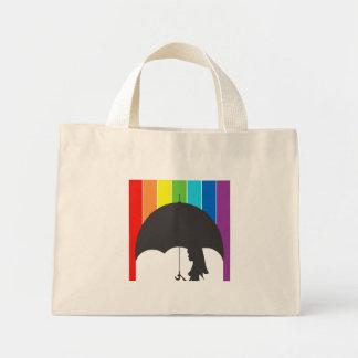 Rain of tinta mini tote bag