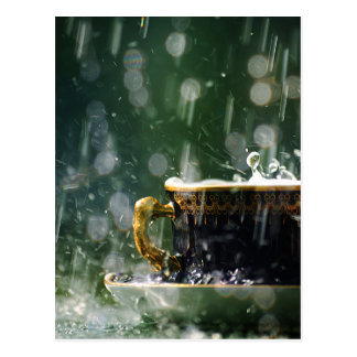 Rain on a Teacup Postcard