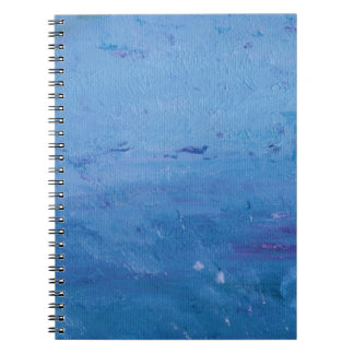 Rain on Lake Notebook