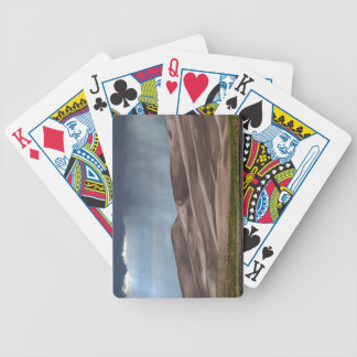 Rain on the Great Sand Dunes Bicycle Playing Cards