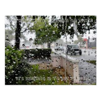 Rain Postcard