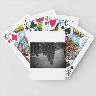 Rain Puddle Bicycle Playing Cards