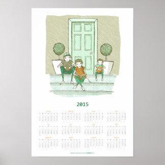 Rain, Rain, Go Away   2015 Poster Calendar