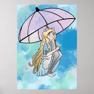 Rain Splash Poster