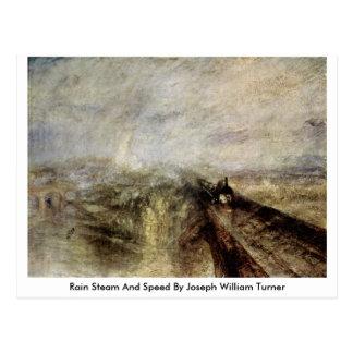 Rain Steam And Speed By Joseph William Turner Postcard