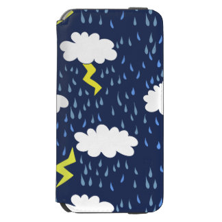 Rain storms thunder clouds incipio watson™ iPhone 6 wallet case