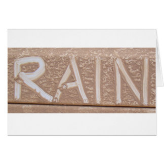 RAIN 'Tailgate Talk' Greeting Card