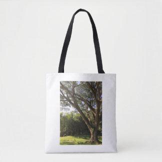 Rain Tree Tote Bag