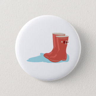 Rainboots 2 Inch Round Button