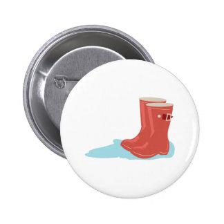 Rainboots 2 Inch Round Button