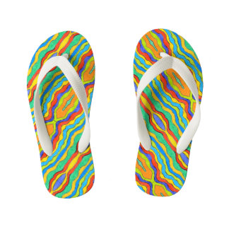 Rainbow 001 - Flip flops for Kids