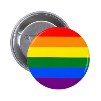 Rainbow 2 Inch Round Button
