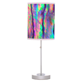 Rainbow Abalone Table Lamps