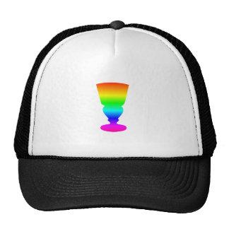 Rainbow Absinthe Glass Trucker Hat