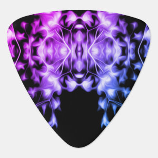 Rainbow Abstract Floral Graphic Pattern Guitar Pick