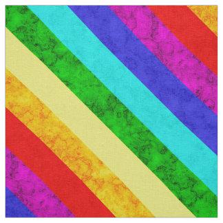 Rainbow abstract pattern fabric