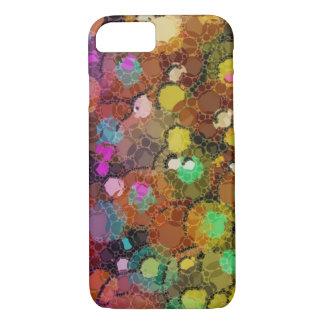 Rainbow Abstract Splatter iPhone 7 Case
