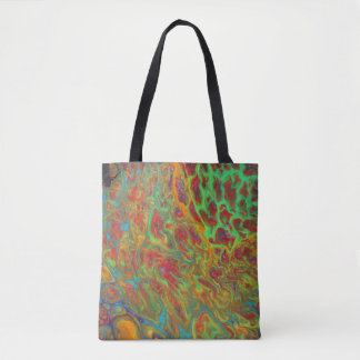 Rainbow Abstract Tote Bag