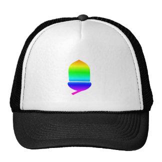 Rainbow Acorn Trucker Hat