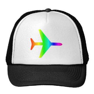 Rainbow Airplane 2 Trucker Hat